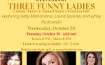 Image for Three Funny Ladies Comedy Dinner