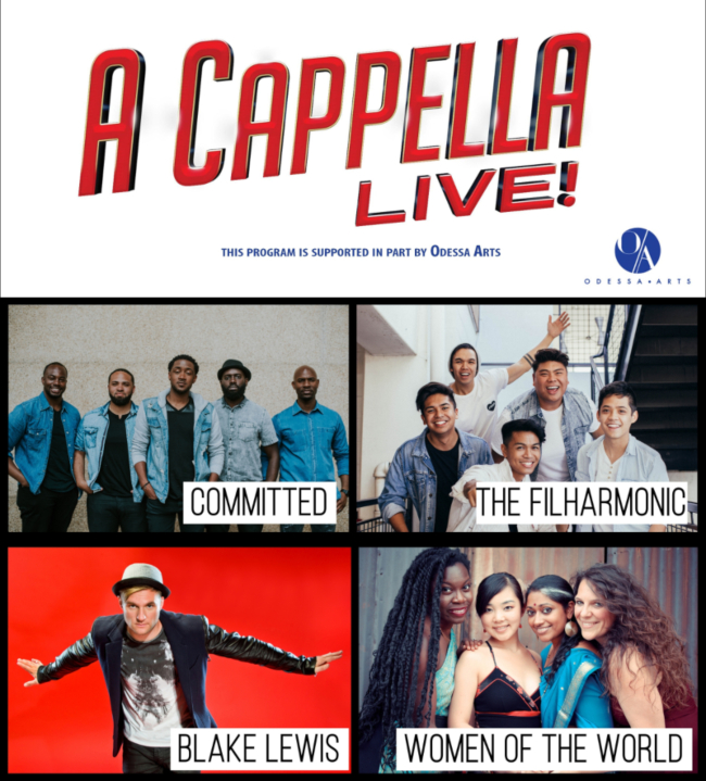 Image for A CAPPELLA LIVE